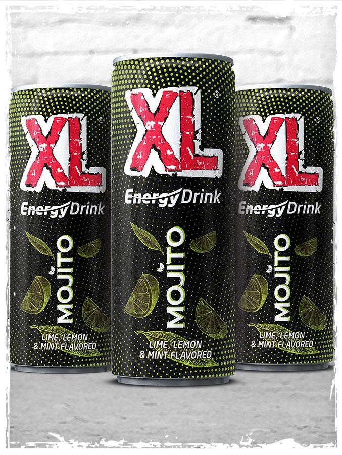 XL Energy Drinks Mojito