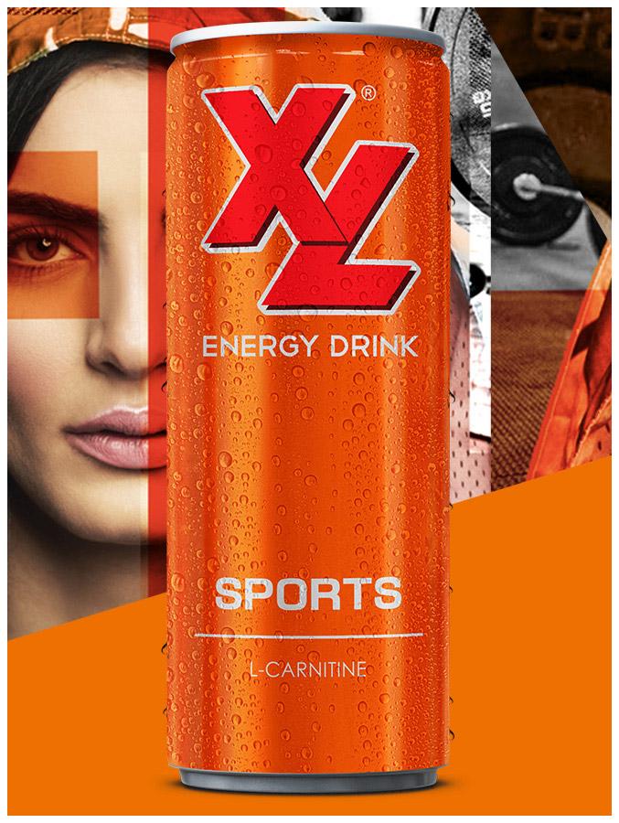 XL Energy Drinks Sports Maniac