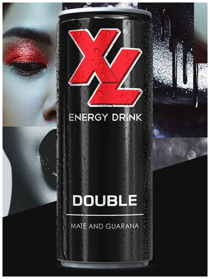 XL Energy Drinks Double Kick